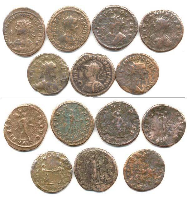 Галерея античных монет.